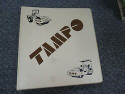Tampo Rs-144a Double Drum Tandem Vibratory Roller Parts Catalog Manual