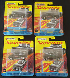 2020 Matchbox Superfast 1963 Chevy C10 Pickup Truck Lot Of 4 Fast Shipping
