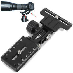 Telephoto Zoom Long Focus Lens Bracket Support And Quick Release Plate Holder
