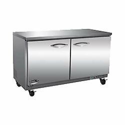 Ikon Iuc61r-4d 61 Two Section Solid Door Undercounter Refrigerator 4 Drawers