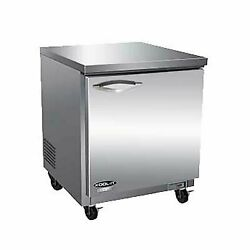 Ikon Iuc28r-2d 27 One Section Solid Door Undercounter Refrigerator 2 Drawers