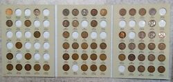 60 Coin 1909 - 1940 Lincoln Wheat Cent Album, Early Dates Collection 508