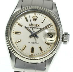 Rolex Oyster Perpetual Lady Date 6517 Cal.1130 Automatic Ladies Watch_568109