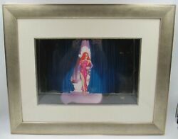 Disney Animation Cel Who Framed Roger Rabbit Jessicaand039s Debut Rare Edition Cell
