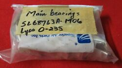 Lot Of 8 New Superior Main Bearings Sl668763a M06 For 0-235 Lycoming Engines