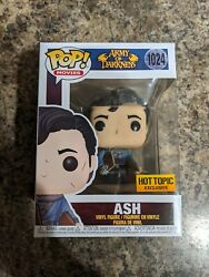 Funko Pop Movies Army Of Darkness Ash 1024 Hot Topic Exclusive In Hand