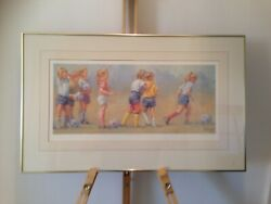 Lucelle Raad Ltd Edition Seriograph Fun And Games