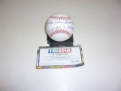 Cal Mclish Indians,most Unique Name In History Tristar/holo Signed Mlb Baseball