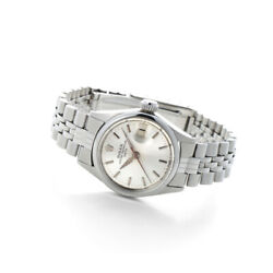 Rolex Oyster Perpetual Datejust Ref 6517 Automatic Watch 1968 Vintage Overhauled