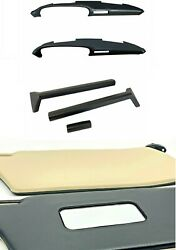 Sunvisor + Knee Pads + Dashboard Top With Air Went For Porsche 911 1986-1989