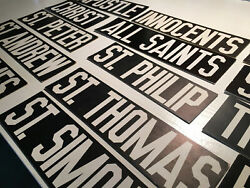 Vintage American Black And White Thick-paper Words Signs Days Menu Board Letters
