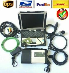 New V2020-12 Mb Star C5 Mercedes-benz Sd Connect Diagnostic Tool With Laptop