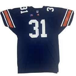 Auburn Tigers Vintage Russell Athletic Jersey Size 46 Player Team Issued Euc