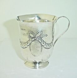 Antique Georgian Sterling Silver Cup 1788 English Cup