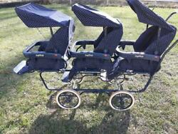 Peg-perego Triple Stroller Made In Italy Baby Carriage Baby Buggy