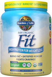 Garden Of Life Raw Organic Fit Powder Original - High Protein For Weight Loss