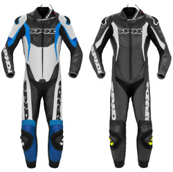 Spidi Ce Sport Warrior Perforated Motorcycle Motorbike Leather Pro Suit