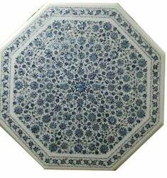 42 Marble Dining Table Top Inlay Rare Stones Antique Antique Coffee Table Ar036