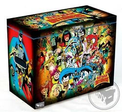 Batman And The Outsiders 80's - Large Comic Book Hard Storage Box Chest Mdf