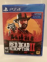 Red Dead Redemption 2 Standard Edition Playstation 4 Ps4 Brand New Sealed
