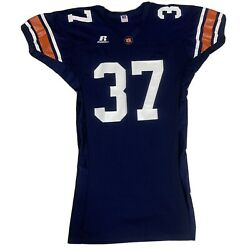 Auburn Tigers Vintage Russell Athletic Jersey Size Large Player Team Issued Euc