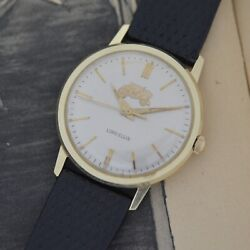 Vintage Lord Elgin Manual 14k Solid Gold Fisher Body Division 25 Years Service