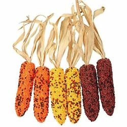 Iwedn Fake Corn Ornament India Design Decoration Pack Of 6 Home Andamp Kitchen