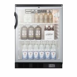 Accucold Scr600bglbinz One Section Undercounter Nutrition Center Refrigerator