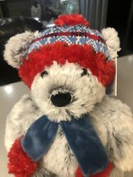 St Jude Gentle Treasures 18andrdquo Teddy Bear With Hat Scarf 2019 Plush