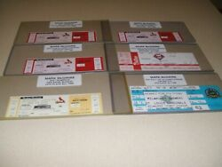 10 Cardinals Mark Mcgwire Hr Tickets Ties/passes Hofers All-time Baseball List