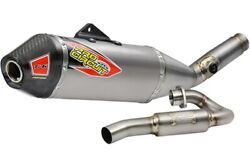 Pro Circuit T-6 Stainless System With Sa Kawasaki Kx450f Fits 2019 To 2021