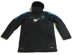 Nike Barcelona Storm-fit Soccer Jacket Sizes M Or L Usa America Mexico Pumas