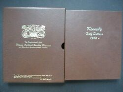 Kennedy Half Set 1964 2015 Pandd Mint State In Album 96 Coin + 2 Proofs