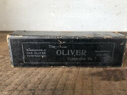 Antique Oliver Typewriter Cleaning Kit Brushes Part Chicago Il