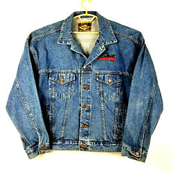 🛍haleman Jeans Jacket - Most Wanted Boomtown Casino - Xxl -metal Tack Buttons