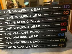 The Walking Dead Hardcover Volumes 1-8 Lot