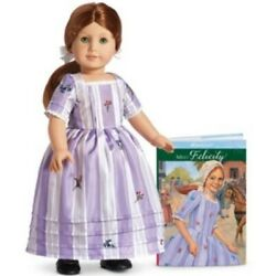 American Girl Felicity Doll And Meet Book - 2nd Edition - Retired - New In Box