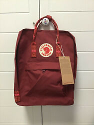 Fjallra ven Kan ken 16L Winered Backpack School Waterproof Canvas Bags $28.99