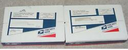 2001 Pandd North Carolina State Quarters 25 Mint Sewn Bags Unopened Boxes