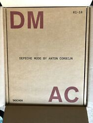 Taschen Xxl Book Depeche Mode By Anton Corbijn Dm Ac Signed Limited Ed Sold Out