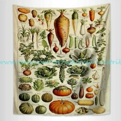 Adolphe Millot fruits wall tapestry wall hangings for living room
