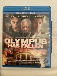 Olympus Has Fallen Blu-ray/dvd, 2013, 2-disc Set - Used Excellent