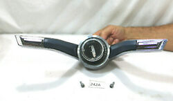 1964 Oldsmobile Steering Wheel Horn Ring With Center Button Cap