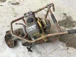 Vintage Mcculloch Chainsaw 2-man Saw - For Parts