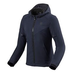 Womenand039s Jacket Motorcycle Revand039it Afterburn Lady H2o Blue Size 44 City Urban