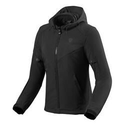 Womenand039s Jacket Motorcycle Revand039it Afterburn Lady H2o Black Size 34 City Urban