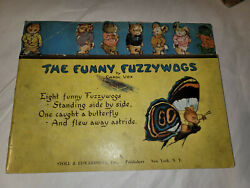 The Funny Fuzzywogs Childrens Book Carol Vox Stoll And Edwards 1921