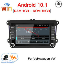 7 Android Gps Navi Radio Bt Car Dvd Player For Vw Volkswagen Cc Passat Polo