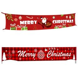 20xmerry Christmas Banner Christmas Decorations For Home Outdoor Store Banner