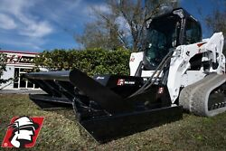 Skid Steer Brush Cutter Attachment Open Front 60 Or 72 Cut Pro Series